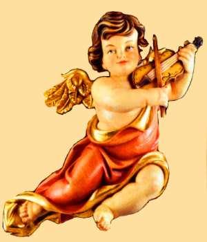 Holzschnitzereien engel aus holz engel mit harfe engel mit horn